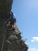 Rock Climbing Photo: Starting P3