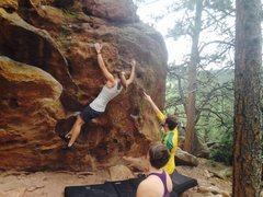 Rock Climbing Photo: Flagstaff, Boulder