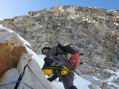 Rock Climbing Photo: Gregg