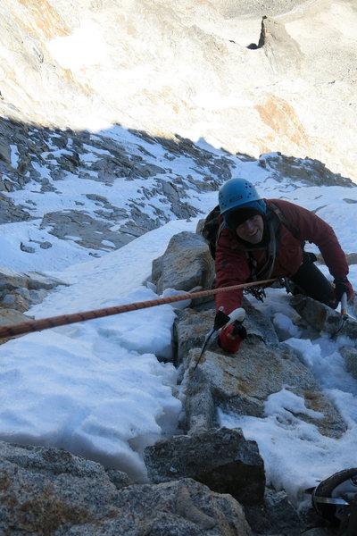 Rock Climbing Photo: Some exposure.