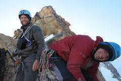 Rock Climbing Photo: Gregg and Roberto