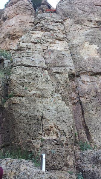 Rock Climbing Photo: Alexi's Climb beta.