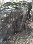 Main boulder