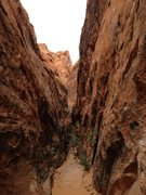 Rock Climbing Photo: The Black Corridor in Red Rock, NV