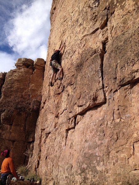 Rock Climbing Photo: Shelf Rd