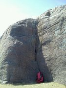 Rock Climbing Photo: The Corner Problem at the Crabhouse