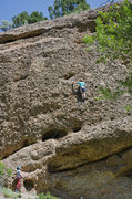Rock Climbing Photo: Is it just me or are the 11 bolts on this line a b...