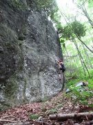 Rock Climbing Photo: Lindley's Line