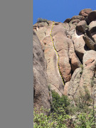 Rock Climbing Photo: SPlatte: Turkey Rocks: The Leftovers: Mellow Yello...