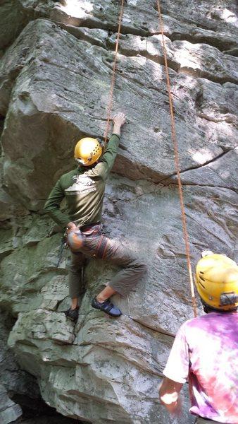 Rock Climbing Photo: Wahoo