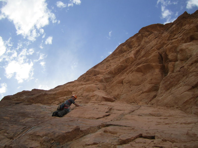 Rock Climbing Photo: Multipitch in the rural region of Amellago, Morocc...