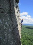 Rock Climbing Photo: On the money pitch of Cascading Crystal Kaleidosco...