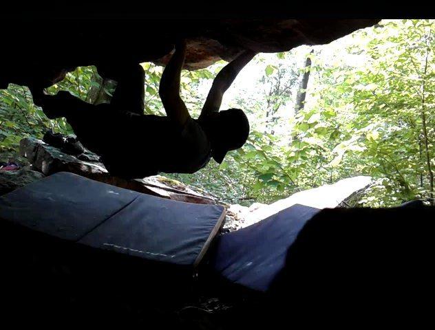 Rock Climbing Photo: Buffalo Mountain Roof.