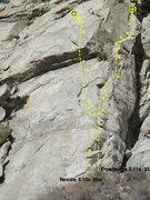 Rock Climbing Photo: Frostfang and Needle.