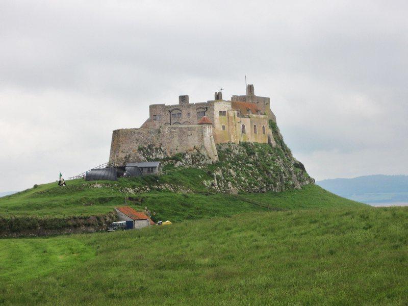 Holy Island Castle . Northumberland Coast