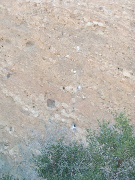 """Rock Climbing Photo: """"Texas Two-Step"""" goes straight up on the..."""
