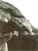 Rock Climbing Photo: When Hattie Gordon tended her garden. Mt Willard c...