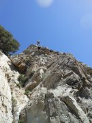 Rock Climbing Photo: A nice looking arête at Tunnel Crag.