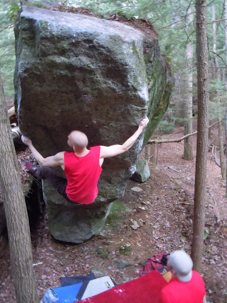 Rock Climbing Photo: The Refrigerator