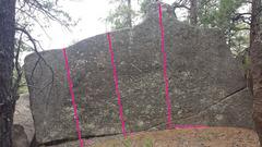 Rock Climbing Photo: Puzzle Piece