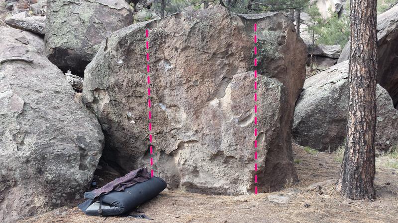 Rock Climbing Photo: Low ball Lovers 1