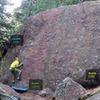 Sputnik Boulder: <br> <br> [[Sputnik Left, V1-]]105757153.<br> [[Sputnik 1, V1]]105757156.<br> [[Sputnik 1.5, V1]]106136135.<br> [[Sputnik 2, V0]]105757159.<br> [[Sputnik 3, V1]]105757162.<br> [[Bleep Traverse V4]]105757150.
