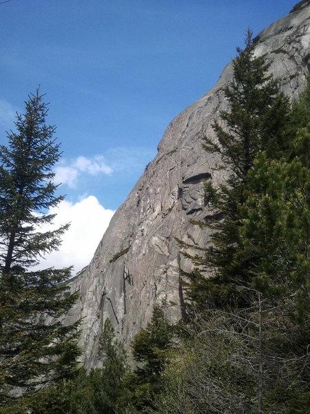 Rock Climbing Photo: Fair Hands Line