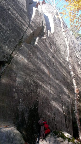 Rock Climbing Photo: The middle corners and cracks