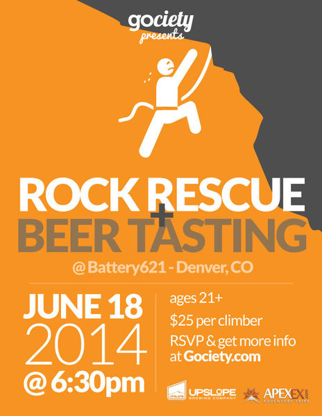 Rock Rescue & Beer Tasting
