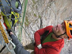 Rock Climbing Photo: A familiar face to many I imagine - tough decision...