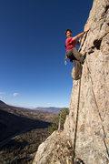 Rock Climbing Photo: The headwall of Royal Flush.