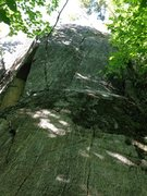 Rock Climbing Photo: The first tier of the route.