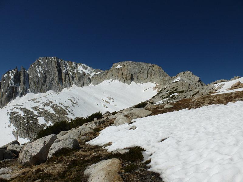 North Peak from north. 6-6-2014.