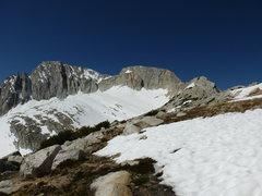 Rock Climbing Photo: North Peak from north. 6-6-2014.