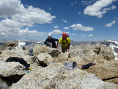 Rock Climbing Photo: North Peak summit photo looking northwest, 12:30. ...
