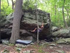 """Rock Climbing Photo: """"Labor and Delivery""""...Coopers Rock's be..."""