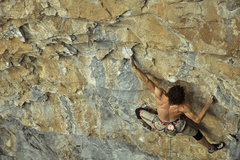 Rock Climbing Photo: Derek Kroll on Chicken Soup 13b, Rifle CO.