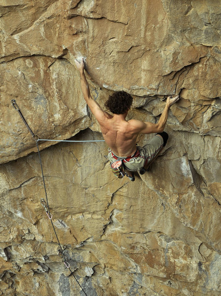 Rock Climbing Photo: Derek Krol on Chicken Soup, 13b Rifle CO.