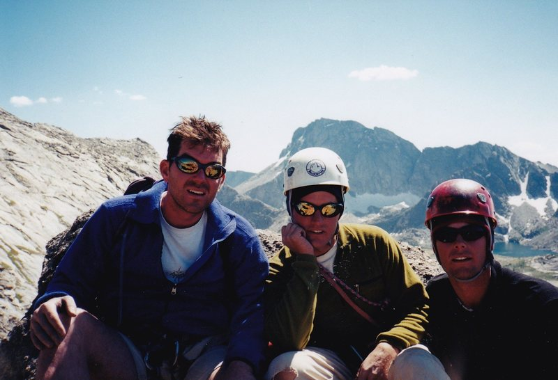 Jason, Chuck, and I on the North Face.