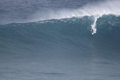 Rock Climbing Photo: Shane Dorian paddling into Jaws 11/12/13 Photo: Ol...