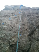 Rock Climbing Photo: Great climb! Good feet the whole way up, pretty go...