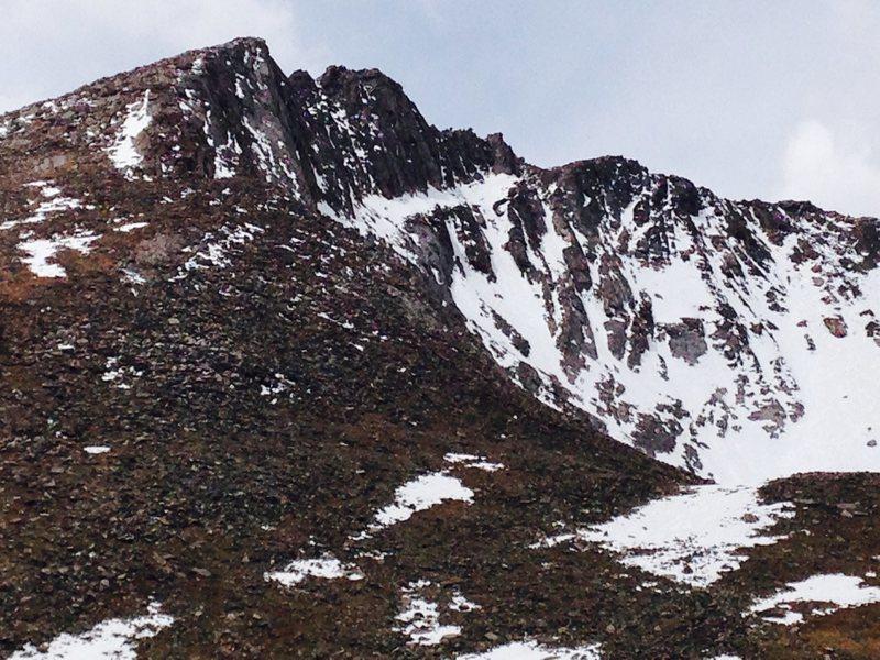 Mt Evans, 6/11/14.