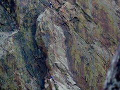 Rock Climbing Photo: 2nd Pitch of Ruper.