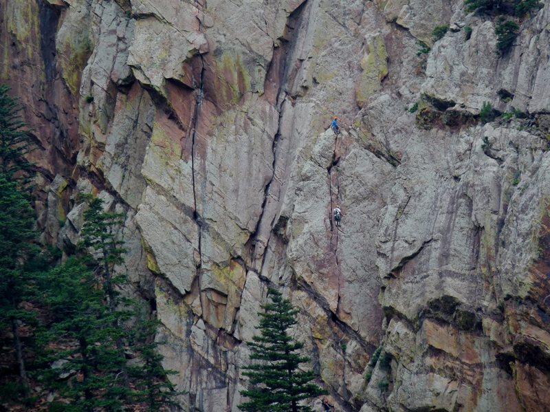 Rock Climbing Photo: Great Zot.