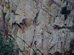 Rock Climbing Photo: Great Zot - yeah they were getting rained on at th...