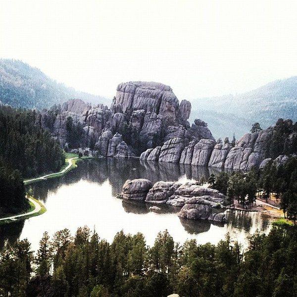 Rock Climbing Photo: Sylvan Lake photo: Michael Madsen