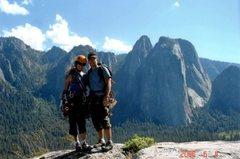 Rock Climbing Photo: Top of Nutcracker, Yosemite