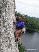 Rock Climbing Photo: Kellie Barr-Foster