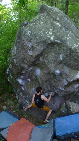 Rock Climbing Photo: Blair