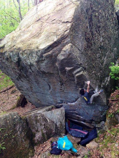 Rock Climbing Photo: Gnar Wall